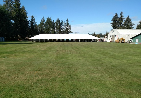 West Field with Tent