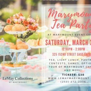 LeMay Tea Party at Marymount