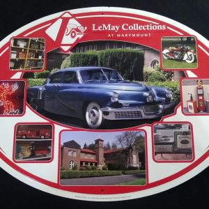 LeMay Metal Sign