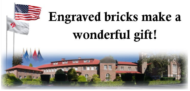 Engraved bricks make a wonderful gift!