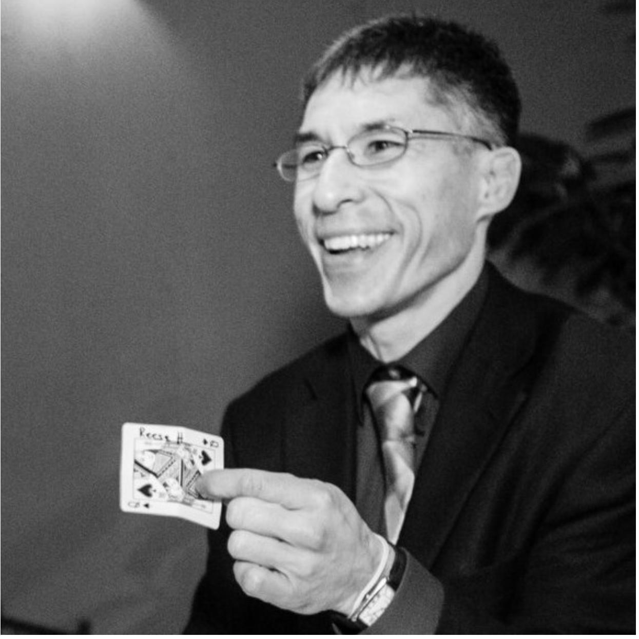 Magician Jeff Evans